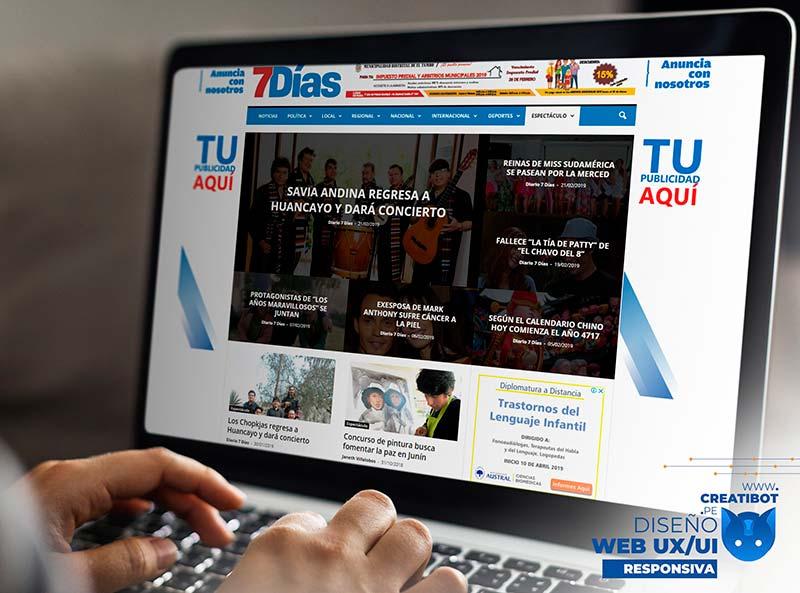Creatibot - Diseño Web