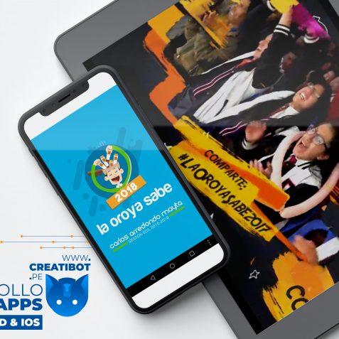 Creatibot - Desarollo de Apps Android - iOS