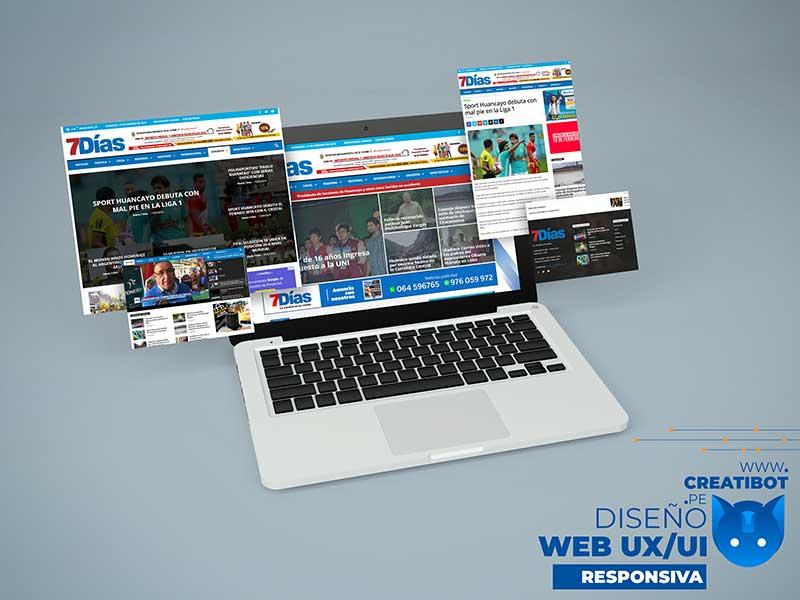 Creatibot - Diseño Web - 7 Días